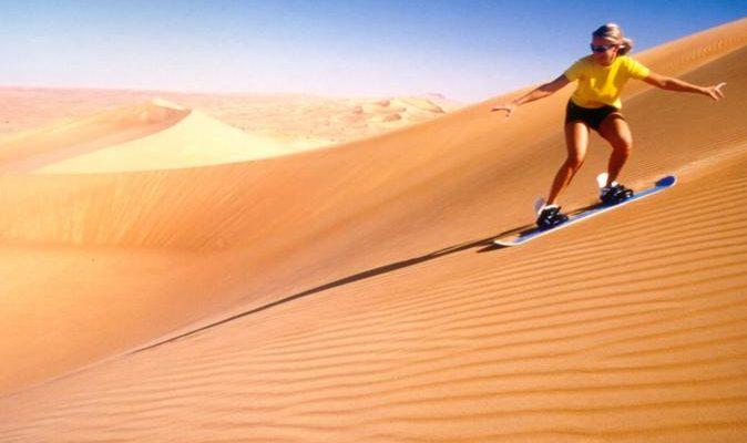 Surf The Sand Dunes Of The Sahara Desert Fly Away
