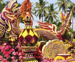 flower festival in Thailand